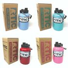 RTIC Half Gallon Jug Water Bottle Tumbler Insulated Stainless Steel 64 oz NEW