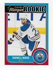 Darnell Nurse 2014-15 O-Pee-Chee OPC Marquee Rookie Red Border RARE Oilers