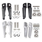 For Kawasaki Z1000 GTR1400 ZZR1400 Motorcycle Front Rear Footrests Foot pegs