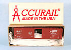 ACCURAIL Katy M-K-T 50' Steel Boxcar 90194 (Brown) 1/87 HO Scale Model Kit NEW!