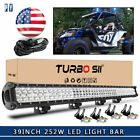 39 LED Light Bar For Honda Pioneer Can Am SxS Ford Arctic Cat Alterra 400 450