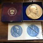 Complete 1923 PRESIDENT CALVIN COOLIDGE  US MINT BRONZE MEDAL 3