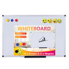 Viz-pro Magnetic Whiteboarddry Erase Board Includes 4 Erasers 3 Magnets