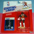 1988 DENNIS HOPSON New Jersey Brooklyn Nets Rookie - 0 s/h- sole starting lineup
