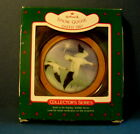 1987 6th in Holiday Wildlife Series SNOWGOOSE  Hallmark Ornament.