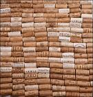 Natural Assorted Bordeaux Napa Valley White Wine Corks Lot For Arts