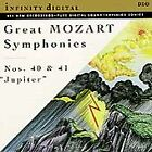 Great Mozart Symphonies: Nos. 40 & 41