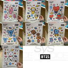 BTS BT21 Official Authentic Goods Wall Deco Sticker 7SET By Monopoly +Tracking