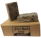 5 lbs Premium African Raw Back Soap 100% Pure Organic Unrefined - From Ghana
