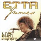 Live and Ready by Etta James (CD, 2002, Classic World Productions, Inc.)