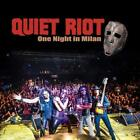 2019 QUIET RIOT ONE NIGHT IN MILAN WITH BONUS TRACK JAPAN 2 CD + D From japan