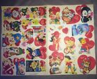 Vintage Cut Out Valentines Late 1960s Early 1970s Lot New