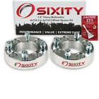 2pc 15 Wheel Spacers for Chevy Metro Sprint Adapters Lugs Studs 4x1143 tt