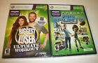Biggest Loser Ultimate Workout Microsoft Xbox 360  Kinect Sports Season Two