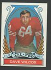 1972 Topps Football Cards 11