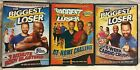 3 The Biggest Loser workout DVD lot 8 minute body blasters 6 week cardio crush