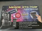 Meade ETX 70AT Computer Guided Telescope w Standard Field Tripod 2 eye pieces
