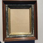Antique Shadow Box Frame Carved With Gold Gilt