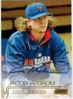 2015 Stadium Club Jacob deGrom Gold Auto! #'d 24 25! Mets! Autograph!! Cy Young!