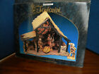 Roman Fontanini 50154 Lighted Nativity Stable With Box  Packing