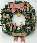 GOEBEL HUMMEL 12 FIGURINE NATIVITY GLORY TO THE NEWBORN KING CHRISTMAS WREATH