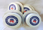 1976 President Gerald Ford Campaign, 4 FOUR SKIMMER HATS , 3 1/4