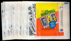 1980 81 Topps Basketball (25) Flat Wax Pack Wrappers a 387