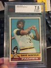 Dave Winfield Cards, Rookie Cards and Autographed Memorabilia Guide 8