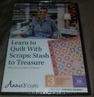 LEARN TO QUILT WITH SCRAPS STASH TO TREASURE DVD NEW SEALED