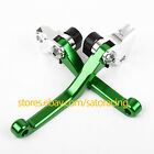 For Kawasaki KX65/85 KX100/125/250/F/500 KX450F Pivot Brake Clutch Levers Set