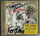 THE TUBES - LIVE CD/DVD - WILD WEST SHOW AUTOGRAPHED SIGNED FEE WAYBILL