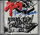 THE TUBES - LIVE CD MONDO PULP 2018 LIVE AUTOGRAPHED SIGNED FEE WAYBILL