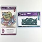 Diesire Crafters Companion Lot Of 2 Die Sets Butterfly Garden