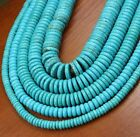 Beads Turquoise 10mm 8mm Gemstone Natural Spacer 6mm Heishi 12mm New 4mm
