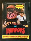 Vintage 1986 Topps Little Shop Of Horrors Wax Box Steve Martin Rick Moranis