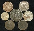 7 Coins from Mexico.  1883-1935.   No Reserve!!