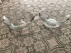 Two Anchor Hocking Savannah Clear Cereal Bowls