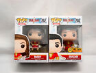 FUNKO POP HEROES SHAZAM MARY GLOW IN THE DARK HOT TOPIC EXCLUSIVE SET BRAND NEW