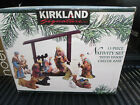 Kirkland 13 Piece Porcelain Nativity Set