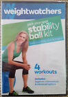 WEIGHT WATCHERS STABILITY BALL KIT WORKOUT DVD NO BALL FITNESS NEW 25 OFF 2+