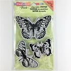 Stampendous Frans Butterfly Trio Cling Rubber Stamp Set Card Making Paper Craft