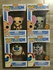 Funko Pop Animation Ren And Stimpy Lot With Both Chase - New In Box Nickelodeon