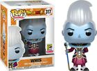 2018 SDCC EXCLUSIVE WHIS DRAGON BALL SUPER Metallic FUNKO POP FUNIMATION #317