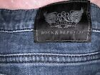 GOOD USED CONDITION ROCK AND REPUBLIC JEANS SIZE 29/30