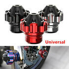 1x Universal Motorcycle CNC Front Wheel Frame Slider Falling Crash Protector Cup