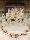 Robert Stanley Nativity Promise of Christmas Deluxe 9 Piece Set