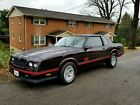 1987 Chevrolet Monte Carlo SS Only 6k produced! Very collectable.