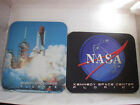 2 Vtg New Mouse Pads Kennedy Space Center Dated 1994  1995 Shuttle  Meatball