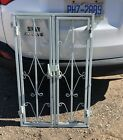 Vintage/Antique Wrought Iron Architectural Window Gate/Guard