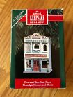 HALLMARK 1992 NOSTALGIC HOUSES AND SHOPES ORNAMENT FIVE AND TEN CENT STORE 9th